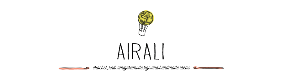 Airali design. Where is the Wonderland? Crochet, knit and amigurumi.