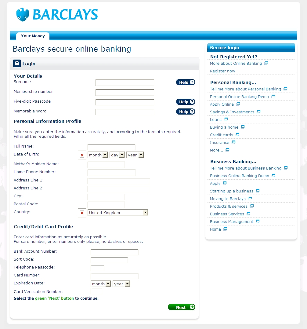 Barclays bank my account forex trading barclays personal banking fbccfo Image collections