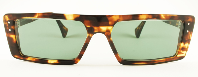 Rock Optika eyewear collection: Portofino sunglasses in tortoiseshell