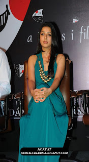 Bhumika Chawla in sleeveless gown