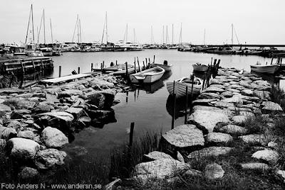 hällevik, hamn, båtar, listerlandet, blekinge, kås, kåsar, hamrar, foto anders n
