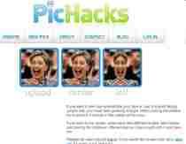 Agregar efectos a fotos online PicHacks efectos para fotos PicHacks