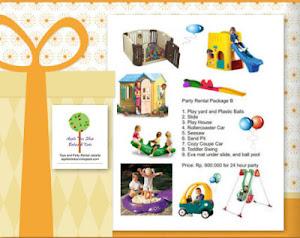 Paket Sewa Mainan Pesta