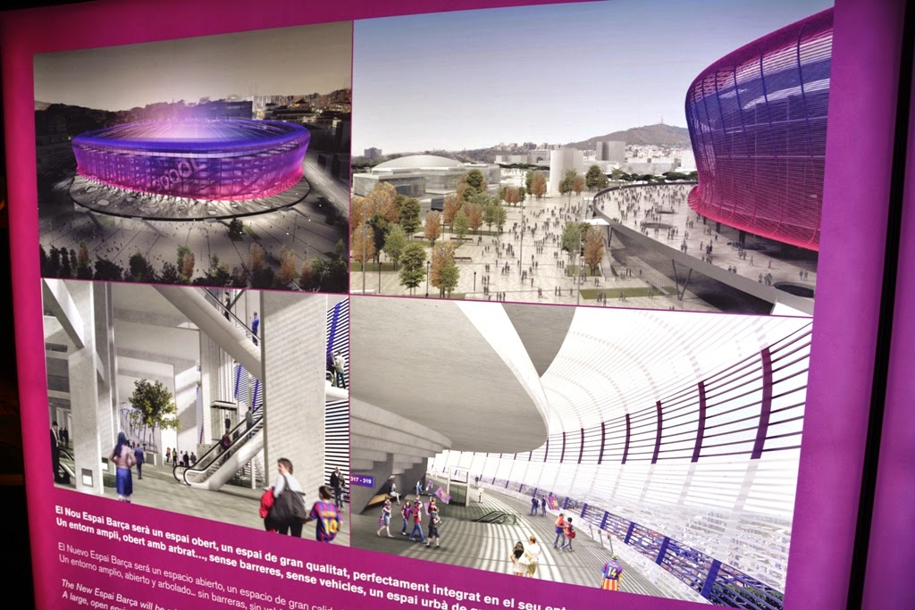 Camp Nou Barcelona new stadium