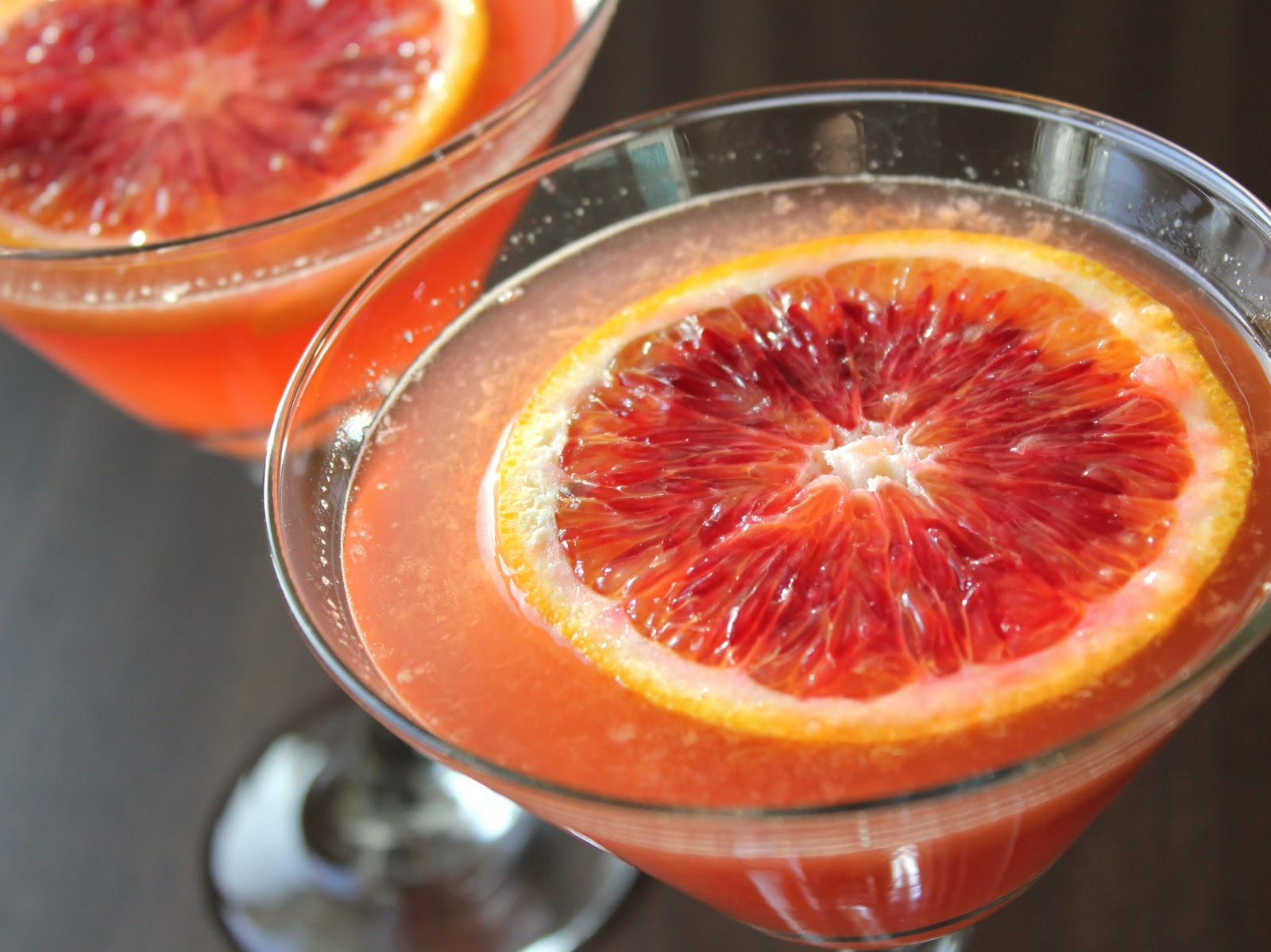 Delicious as it Looks: January Cocktail: Blood Orange Martini