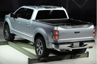 Ford Atlas Concept Salon auto 2013