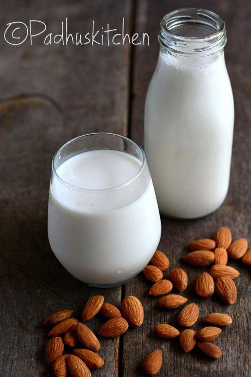 Almond Milk-Homemade Almond Milk