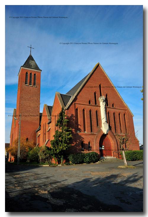 Chalette sur Loing église sainte Thérèse