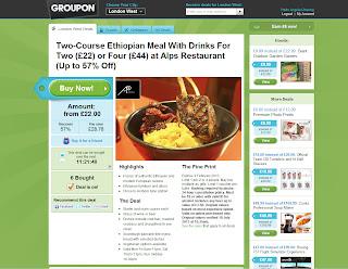 Groupon, deals