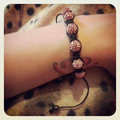 KatSick Sparklable Shamballa bracelet