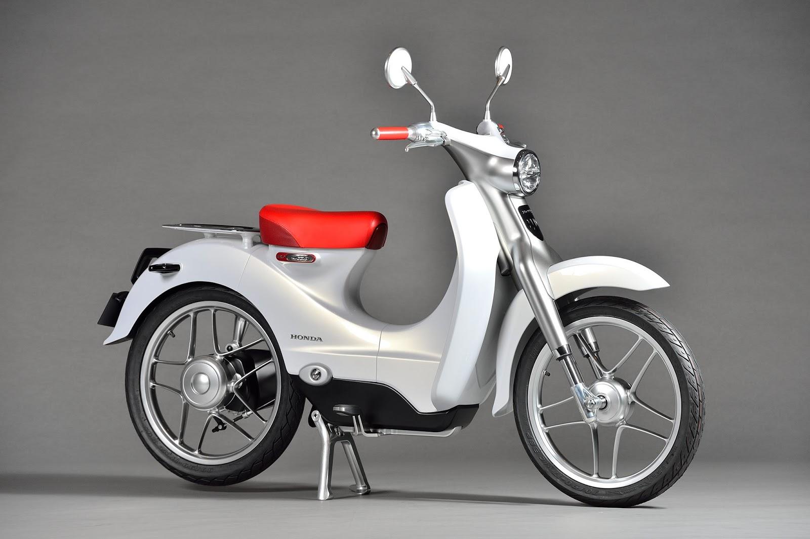 Planet Japan Blog: Honda Super Cub Concept & EV-Cub ...