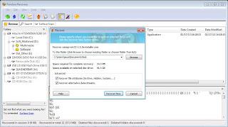 Mengembalikan File dengan Software Pandora Recovery 6
