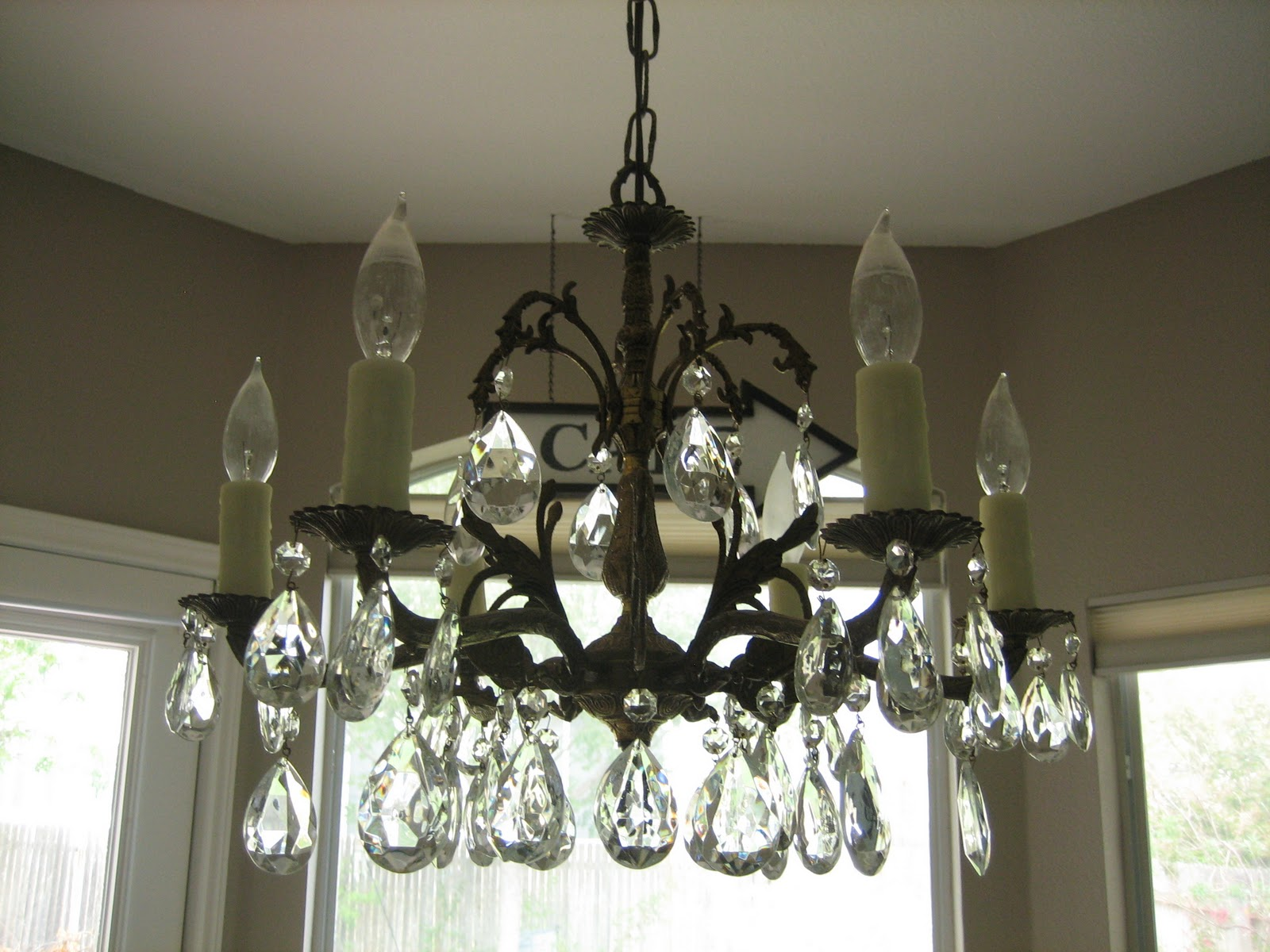 How to Install a Chandelier Charming Zebra
