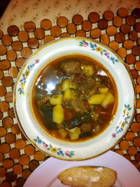 Taste of Home Roasted Poblano Beef Stew | Foodie in WV
