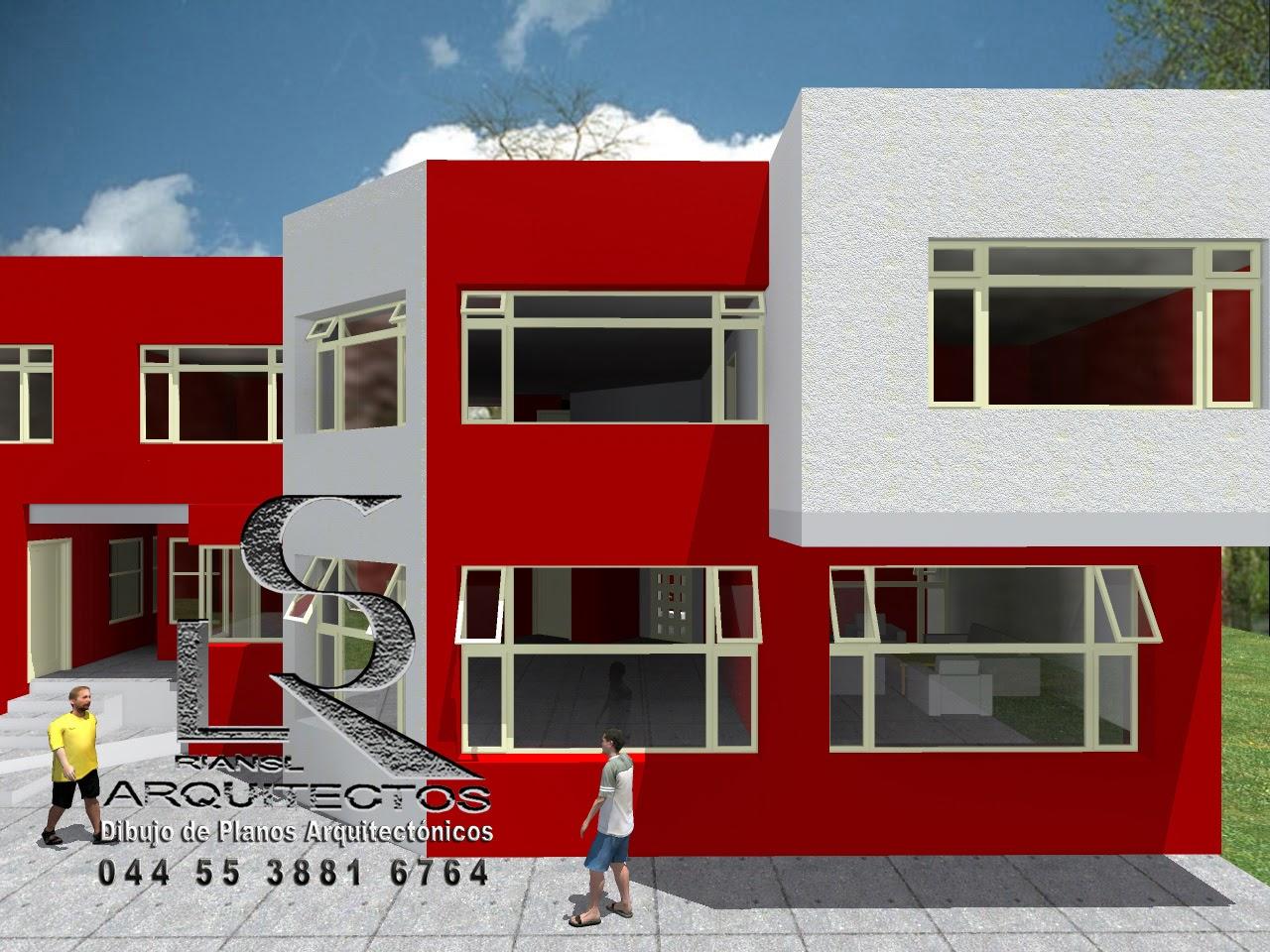 Proyecto arquitect nico en im genes renders dise os - Diseno casa 3d ...