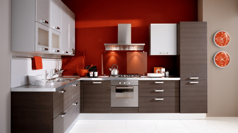 Distribuci n del espacio en la cocina ideas para decorar - Cocina en forma de l ...