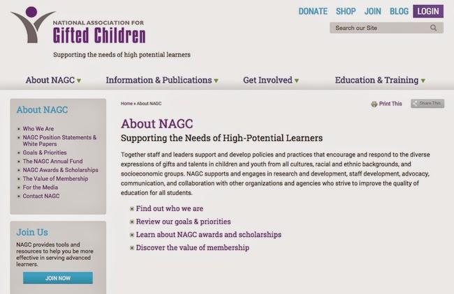 NAGC una organización en favor de las altas capacidades