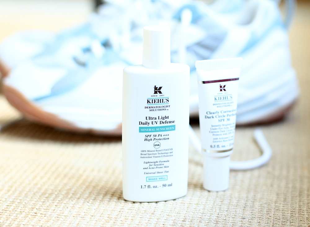 kiehls protection solaire teintée ultra light daily defense clearly corrective dark cicle spf 30 avis test