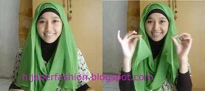 Tutorial Hijab Simple Minimalis Untuk Santai