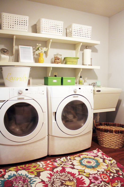 IHeart Organizing: Basement Progress: Laundry Land Linen Cabinet
