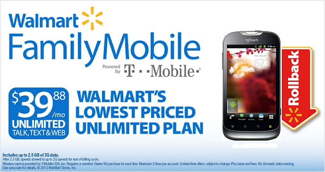 At Walmart to #shop for an inexpensive wireless plan