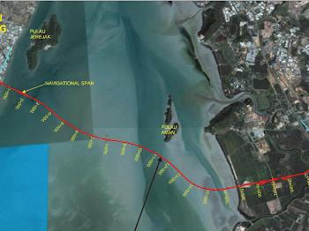 [Gambar] Jambatan Kedua Pulau Pinang