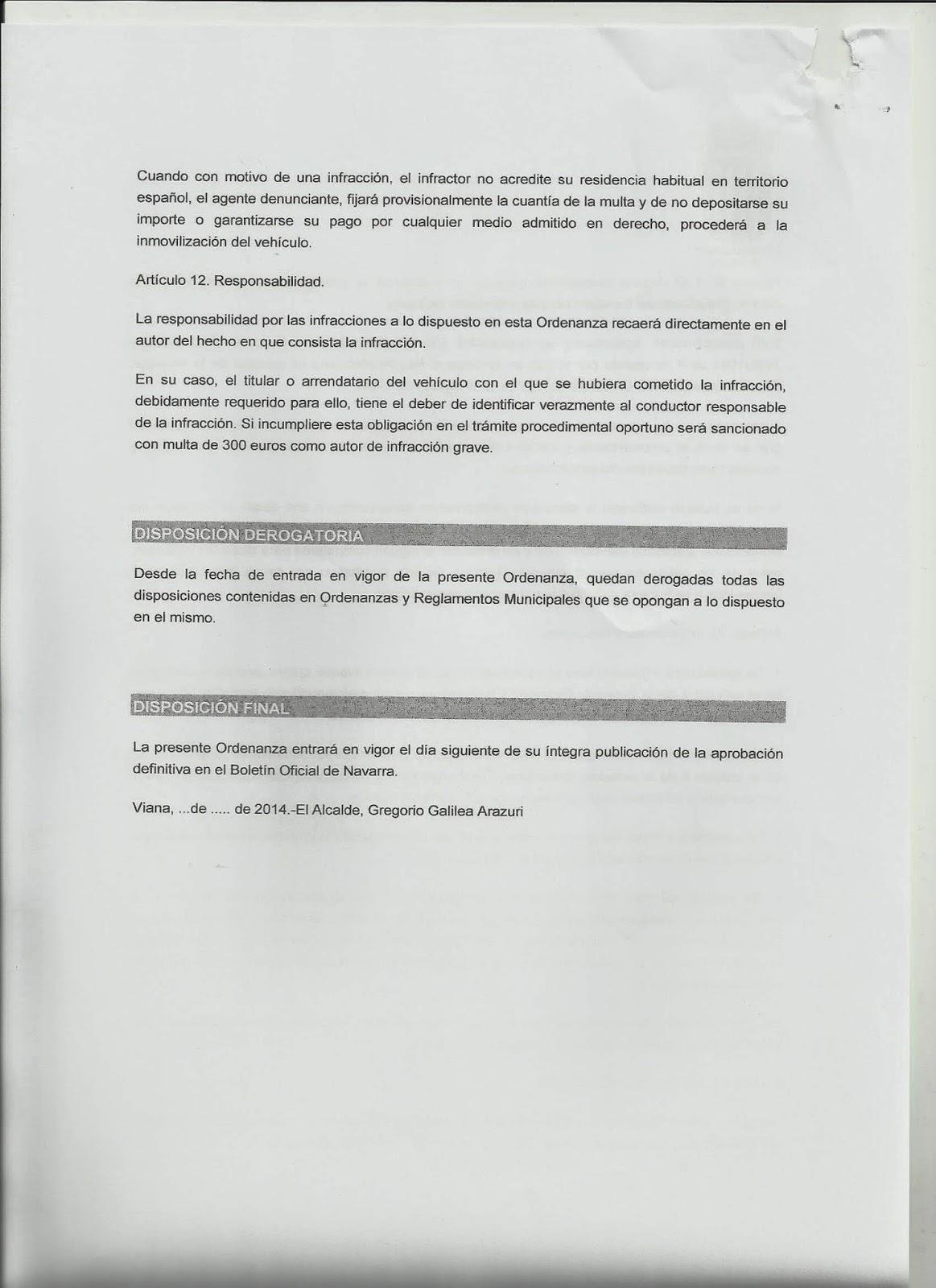 Geroa Bai Viana: RESUMEN DE SESION ORDINARIA 28 DE MAYO DE 2014.