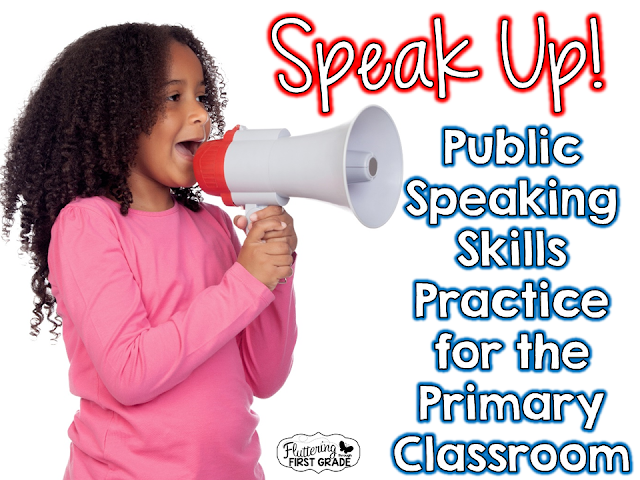 Public Speaking Skills Practice for the Primary Classroom ~ The ...