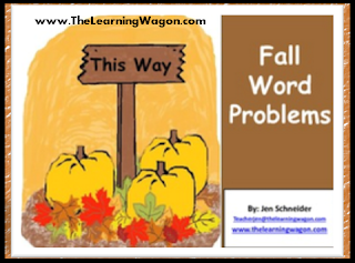 https://www.teacherspayteachers.com/Product/FALL-WORD-PROBLEMS-PACK-885323