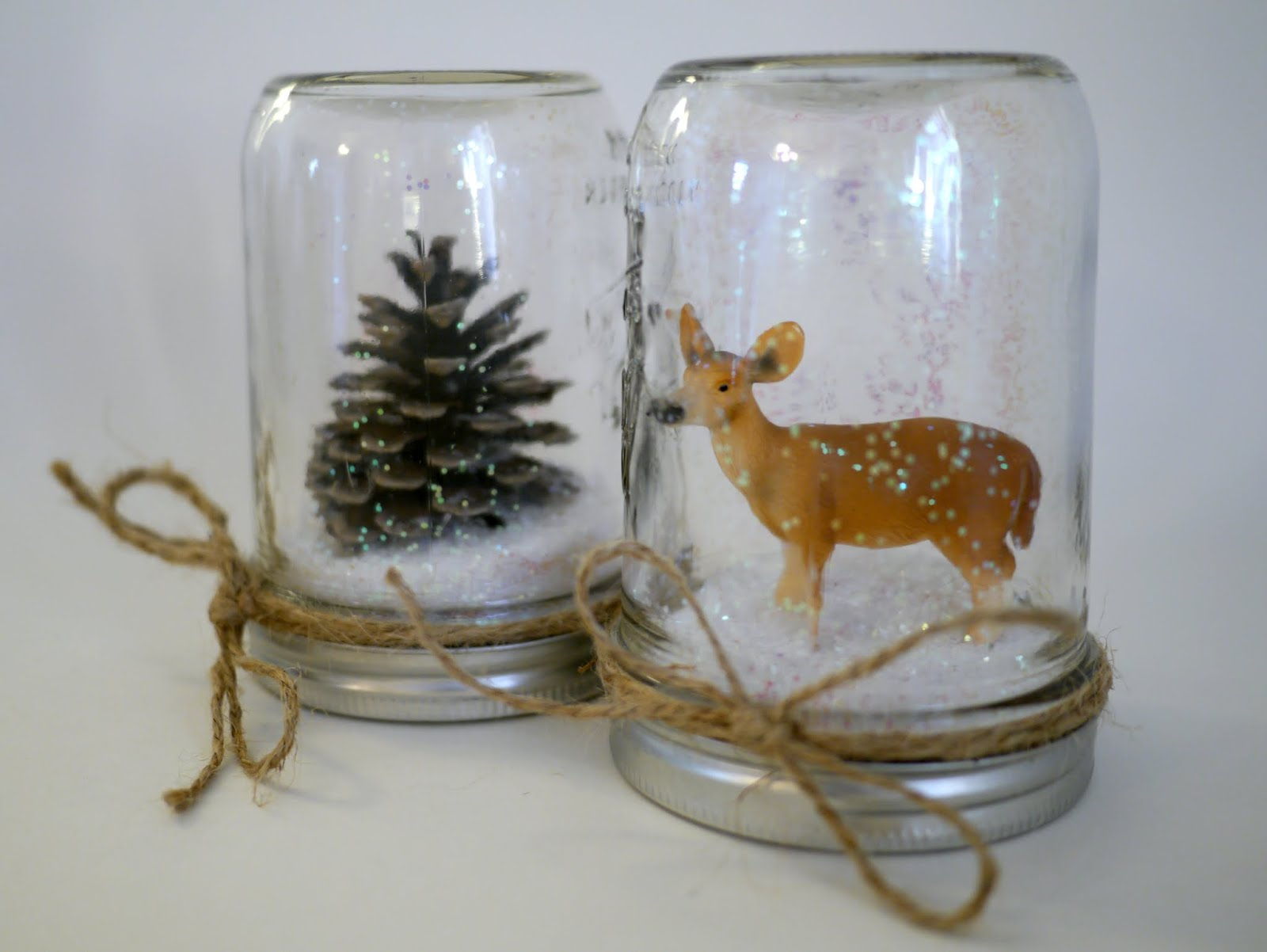 Waterless Snow Globe DIY