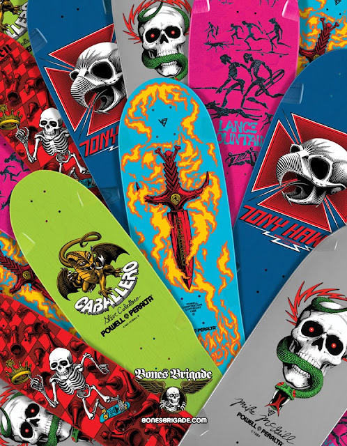 Powell New Colour Reissue Decks