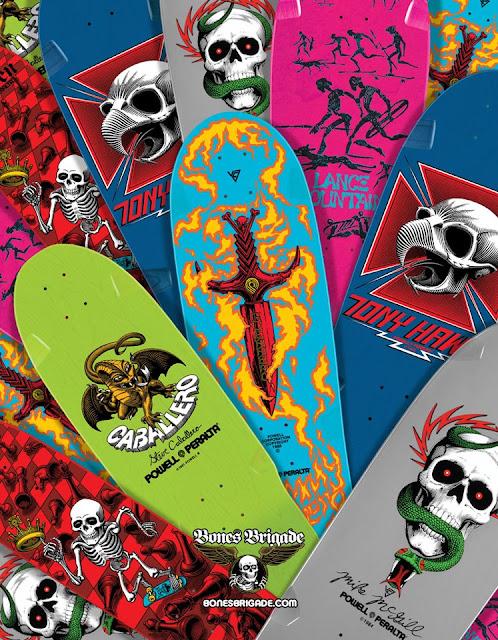 Powell New Colour Reissue Decks