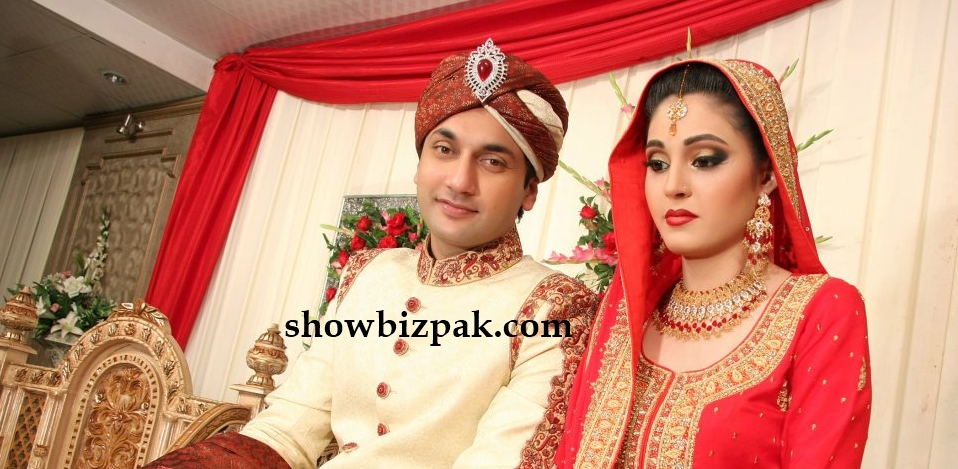 Sara Chaudhry And Sami Khan Wedding Faiq khan wedding   shaadi Sara Chaudhry And Sami Khan In Nadia Khan Show