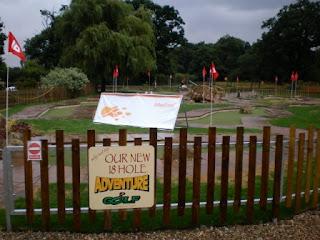 Minigolf at Wroxham Barns