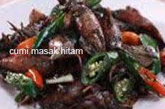 resep masakan indonesia seafood cumi hitam spesial praktis, mudah, enak, lezat, pedas