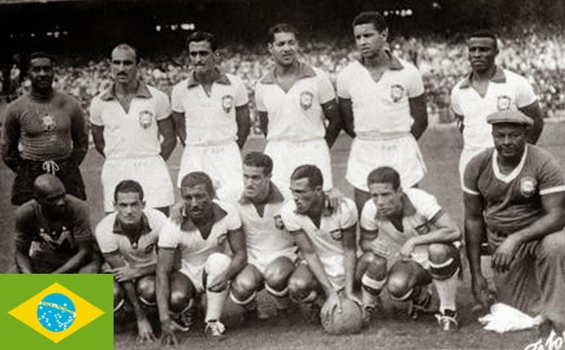 Finale de la coupe du Monde de Football 1950 Brésil