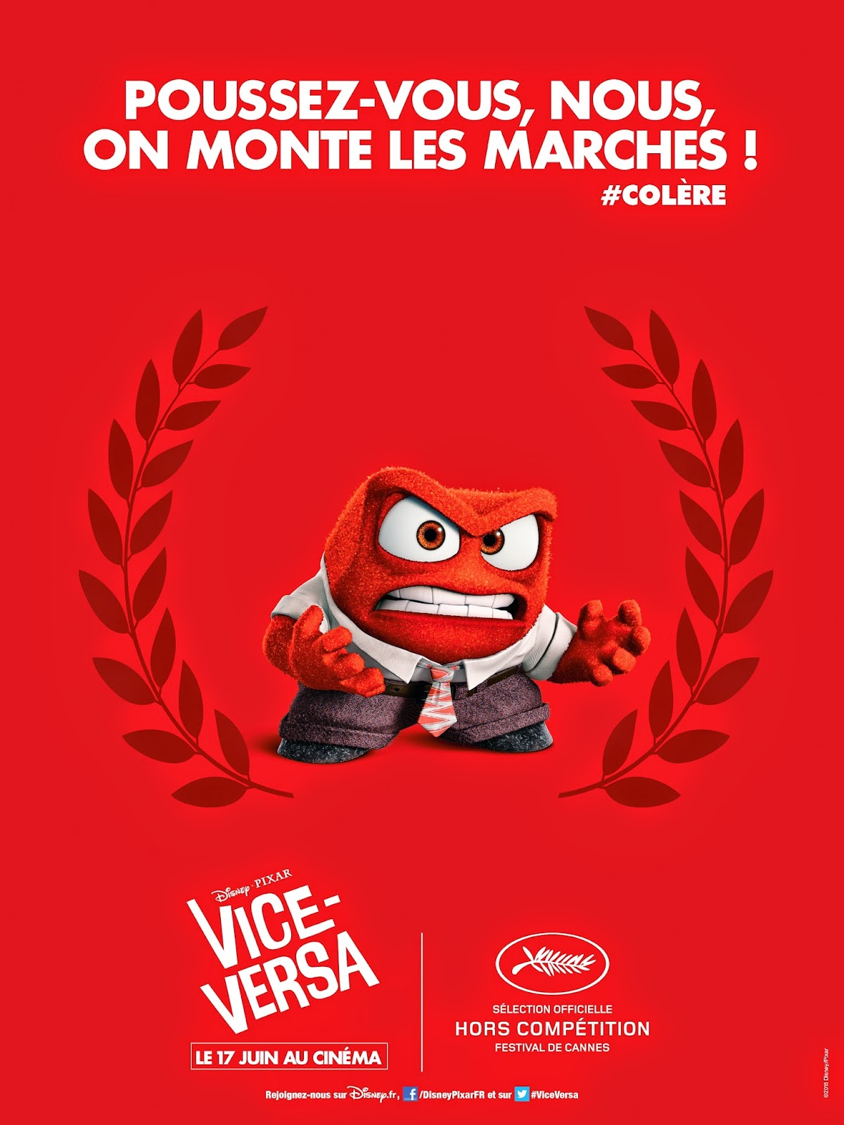 Inside out teaser trailer for Inside french movie