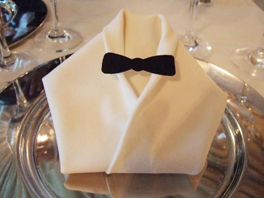 Ever wonder how people created such unique napkin designs for their banquet