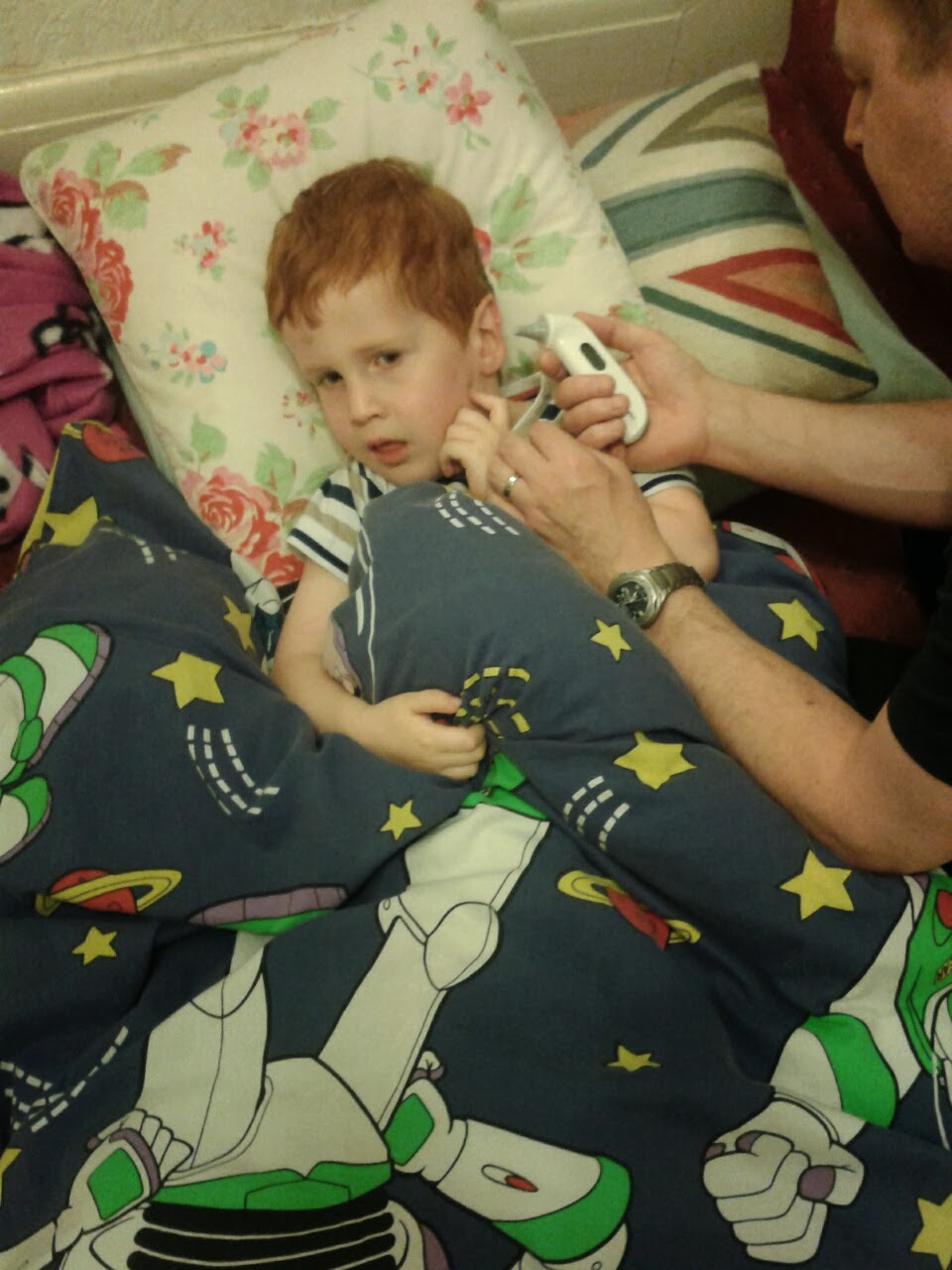 Parenting ill children - motherdistracted.co.uk