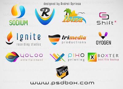 logotipos gratuitos en psd