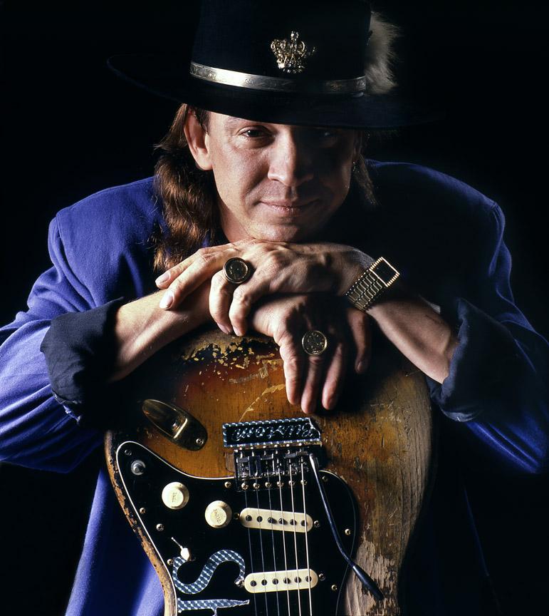 Stevie Ray Vaughan Guitar Behind Back