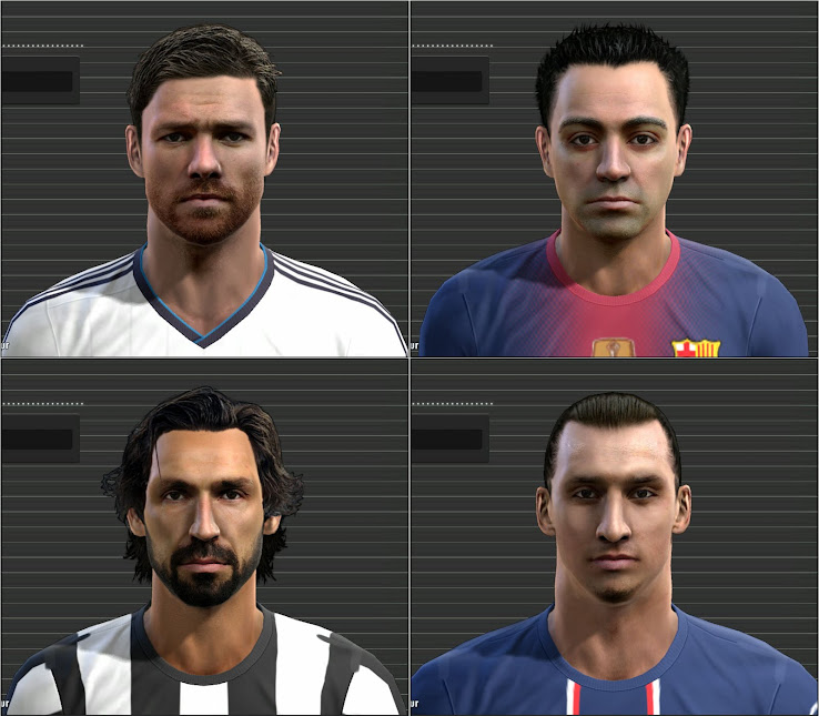 PES  2013 Facepack by Tunizizou