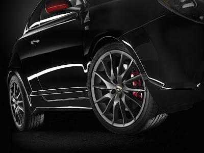Alfa Romeo MiTo SBK Limited Edition, particolare ruote in lega