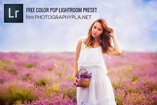 Color Pop Lightroom Preset