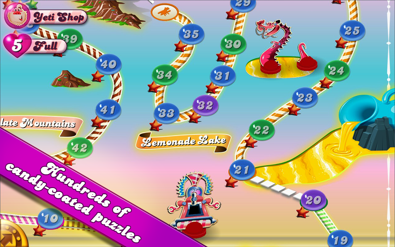 Candy Crush Saga Android Apk Oyun resimi 4