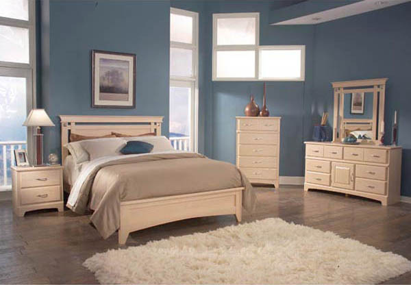 Light Maple Wood Bedroom Furniture (9 Image)