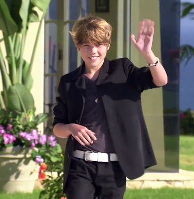 Reed Deming preparing to sing for Britney Spears Video