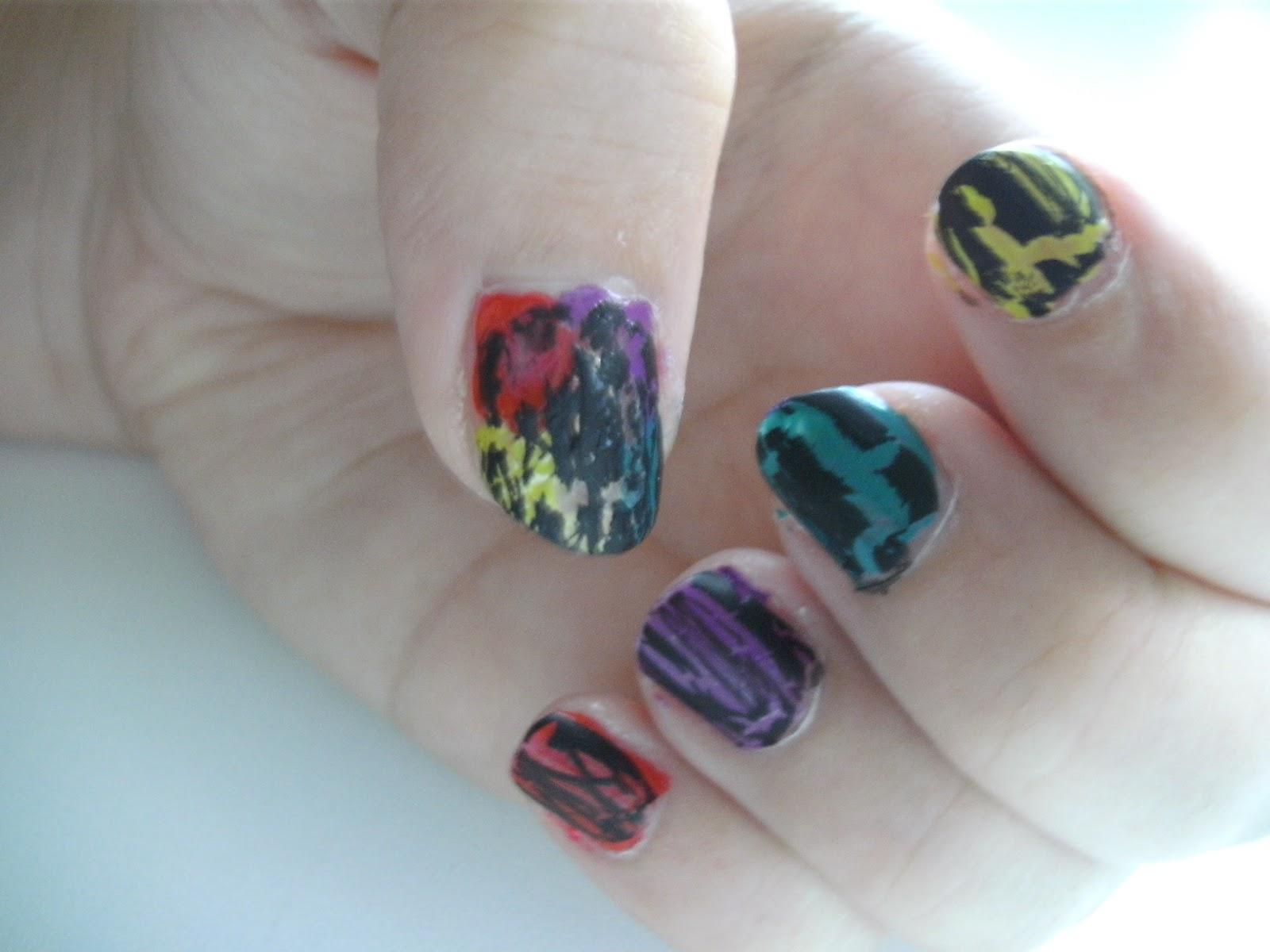 Regenboog crack nagels | Beauty Health