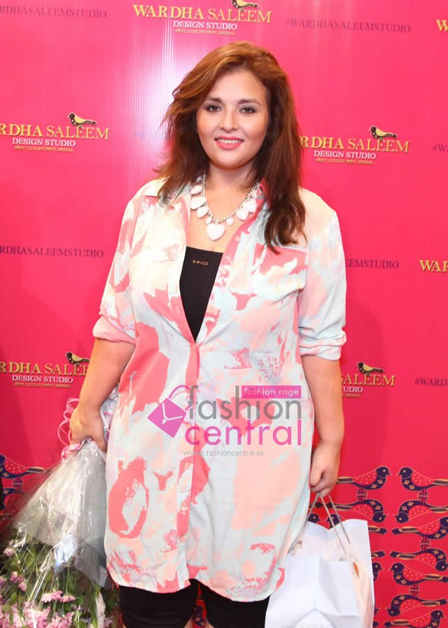 Wardha Saleem Launched Design Studio In Karachi
