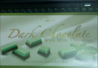 I want to eat chocolate from cosway